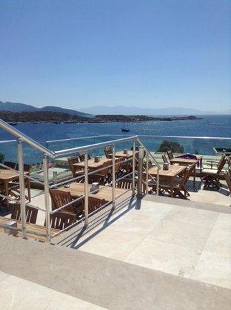 Royal Asarlik Beach : view from Rooftop Restaurant