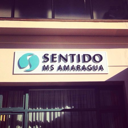 SENTIDO Amaragua: Фасад отеля
