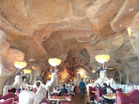 Mythos Restaurant at Universal's Islands of Adventure : Ótima refeição combinado com a linda vista