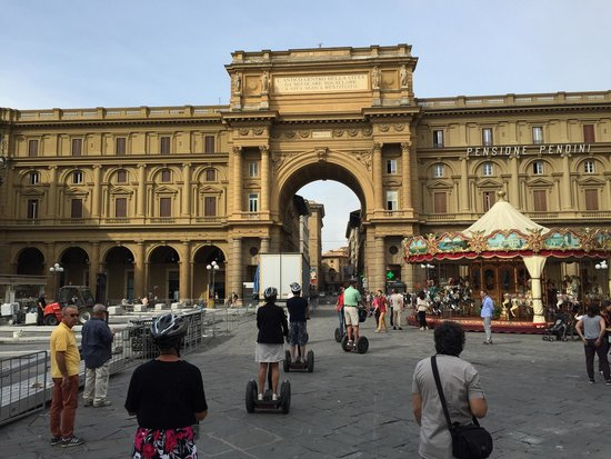 Italy Segway Tours: Florence 21st September