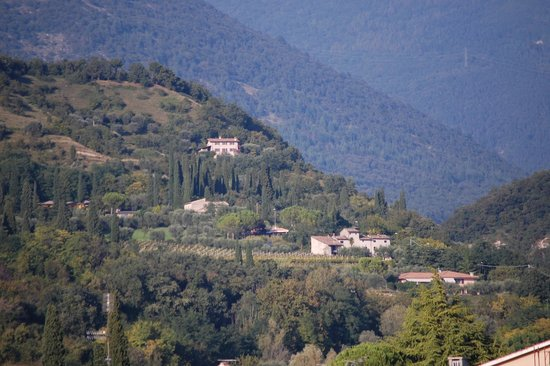 Hotel Villa Mulino: view from our room