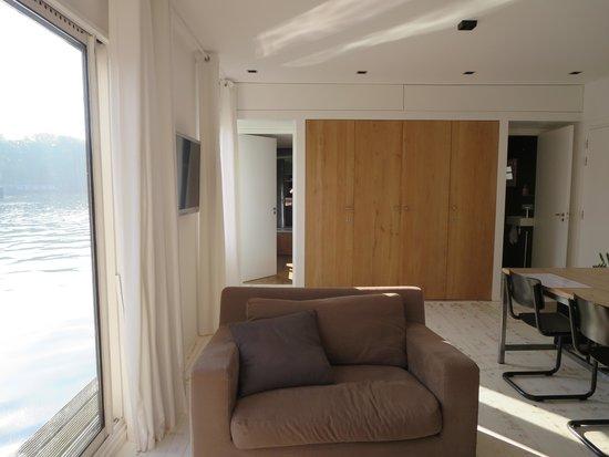 Houseboat Little Amstel : Deluxe room