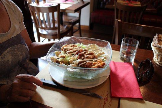 Ris Cafè: Caesar salad