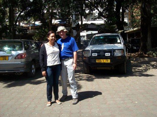 Kindoroko Hotel : Gloria - General Manager of Kindoroko tours
