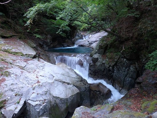 Nishizawa Canyon: 滝