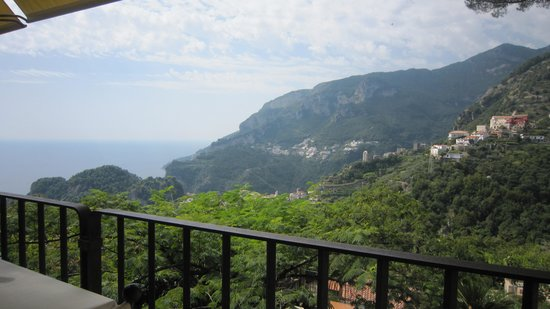 Villa Maria Restaurant : The view