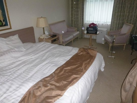 Kyoto Century Hotel: Room, excuse the mess