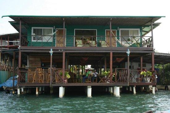 Arriving at Bocas Inn