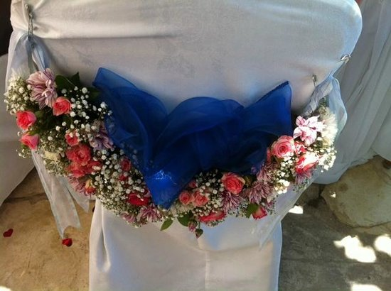 Elysium Hotel : wedding table decoration 1
