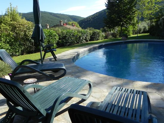 Agriturismo Rocca di Pierle: Quiet and Secluded Pool