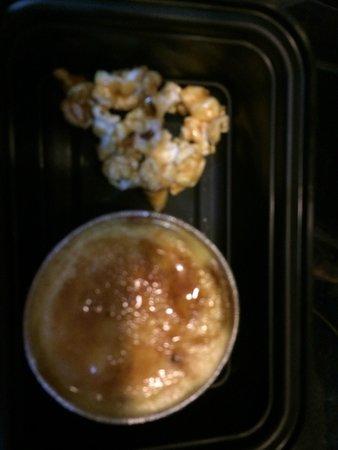Matthew's: corn creme brûlée