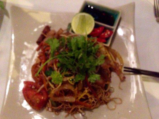 Jaspas Restaurant : Vietnamese noodles with steak