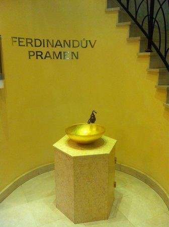 """Danubius Health Spa Resort Butterfly: В отеле есть источник """"Фердинанд"""""""