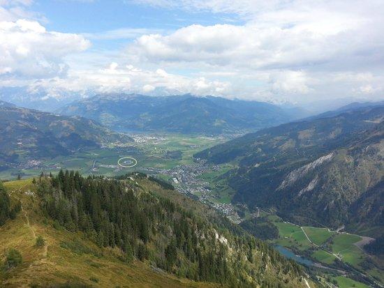 Tauern Spa Kaprun: Blick vom Alexander Enzinger Weg