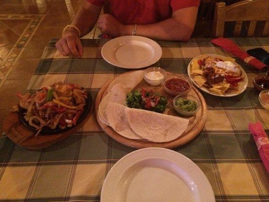 Pancho's Mexican : Fajitas and Nachos : )