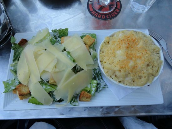 Patio American Grill: Lobster Mac/ Cheese W/ Salad
