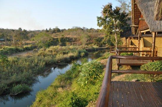 Hippo Hollow Country Estate: Vue de la terrasse