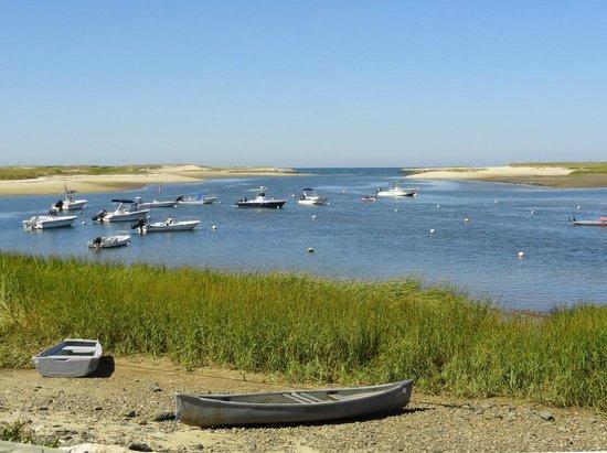 Truro, Массачусетс: Boats in Pamet harbor area