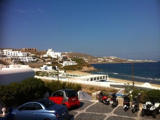 Hotel Mykonos Beach: view from terrace