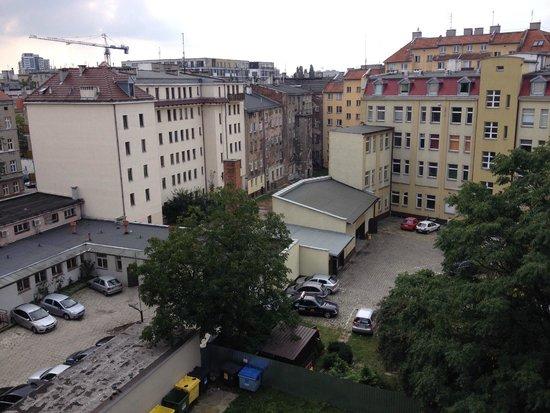 """Cilantro Bed & Breakfast: The """"view"""" - it's in a pretty urban area"""