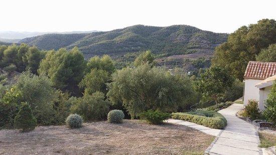 Hotel Rural Masia La Mota: Vista a Font Roja