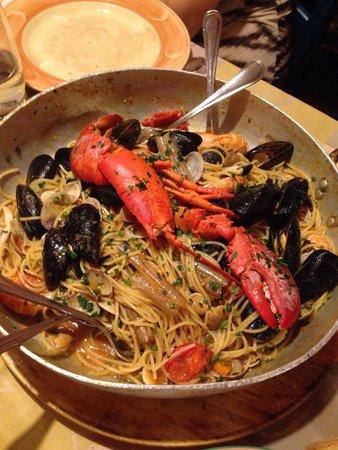 Spaghetti Caraibi - Picture of L\'acquacheta Ristorante, Bagno a ...