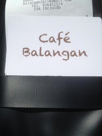 Balangan Bar: Визитка