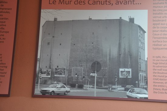 Le Mur Des Canuts: le mur d'origine avant les 1ere modifications