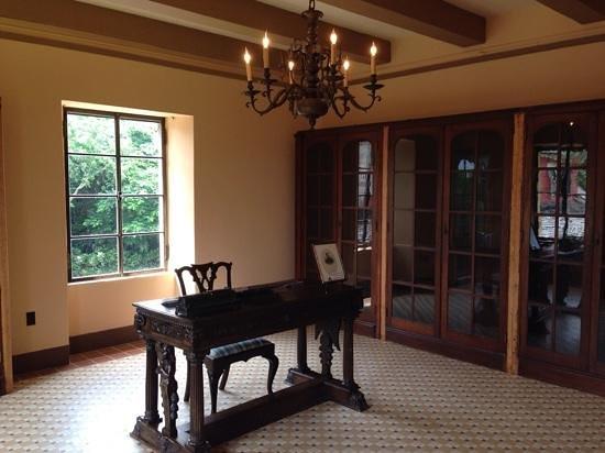 Deering Estate: 2nd floor of the original wooden house