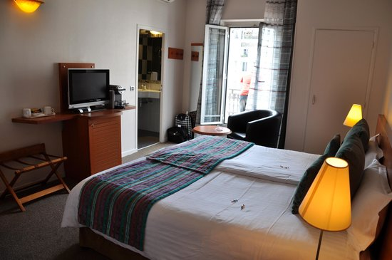 BEST WESTERN Hotel Roosevelt: Chambre