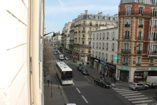 Hotel Lecourbe : View from our window