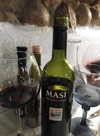 La Vecia Mescola: good wine