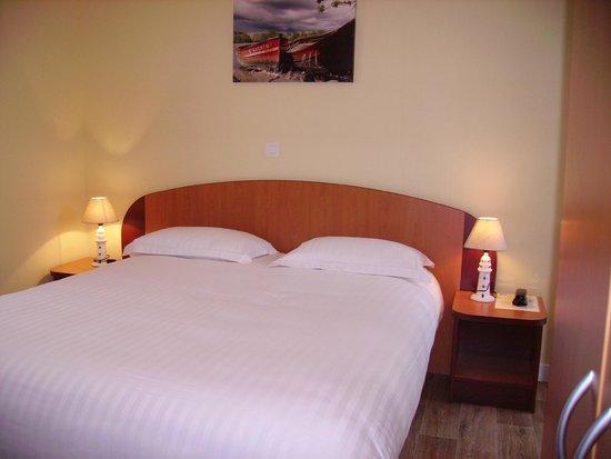 Hotel Restaurant Port Jacquet: Chambre