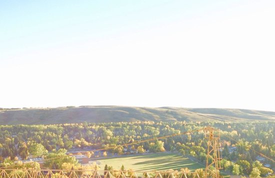 A lovely morning and nose hill park in the background! 21st Sep 2014