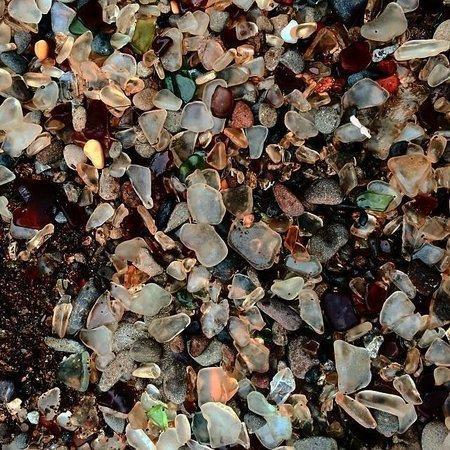 Glass on Glass Beach