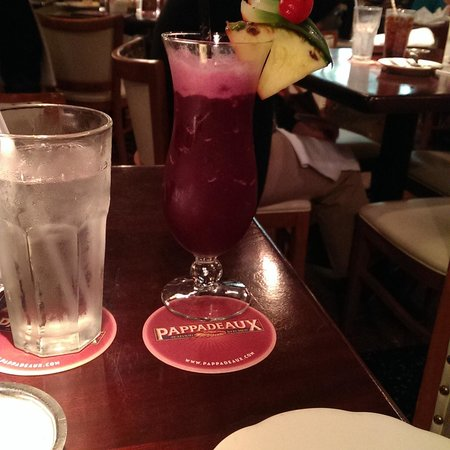 Pappadeaux Seafood Kitchen: The Purple Voodoo