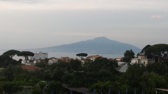 B&B Il Roseto: View from our balcony