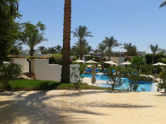 Hilton Sharm Dreams Resort: Overlooking one of the pools