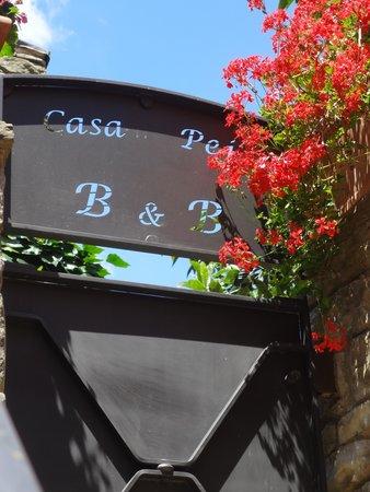 Casa Pei: porte du jardin