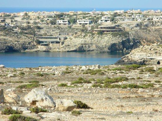 Villette Cala Grecale: Panorama del villaggio ingrandito