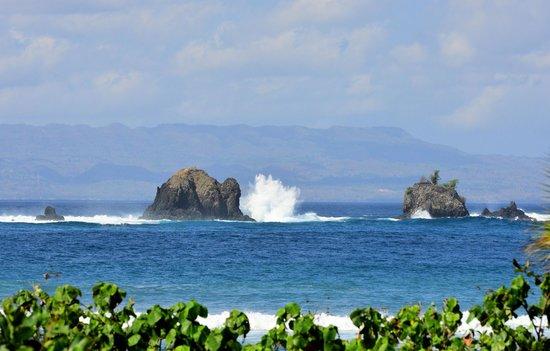 بوري باجوس كانديداسا فيلاز: The awesome view from the beach of Puri Bagus