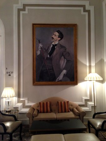 Hotel Maria Cristina, a Luxury Collection Hotel, San Sebastian: My Fave Painting in the Lobby