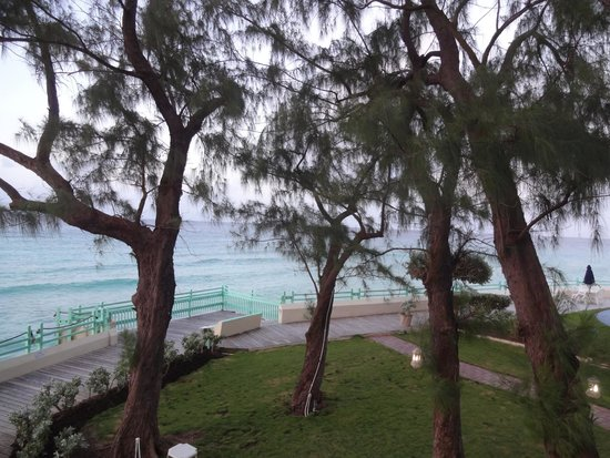 Blue Orchids Beach Hotel: view from hotel room