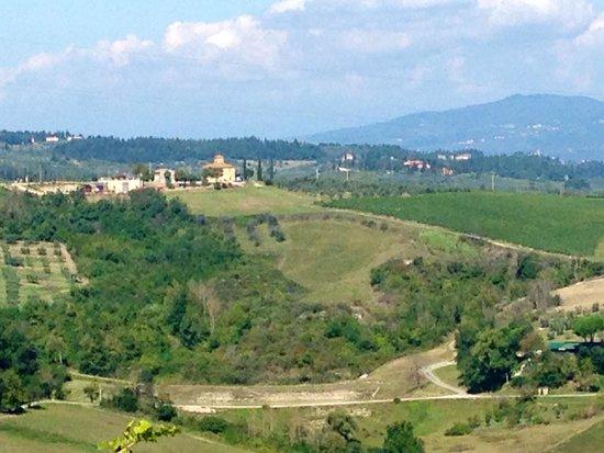 Montespertoli, Włochy: Beautiful landscape