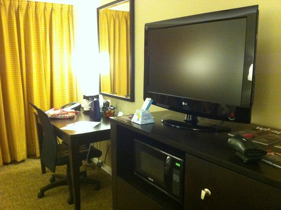 Freepoint Hotel: Big Screen TV