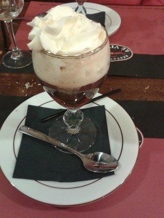 Le Vivier: en guise de dessert
