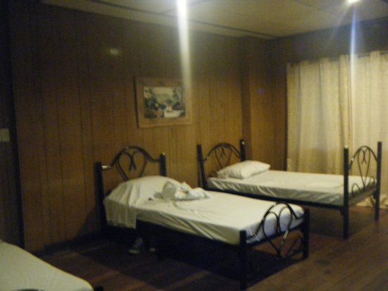 Old beds and pillows the tourist lodge picture of for Hotel pillows for sale philippines