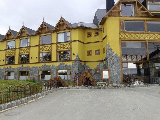 Hotel Los Yamanas : fachada principal