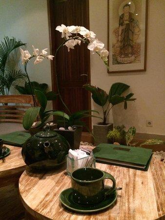 Leha Leha Spa: tea after the massage