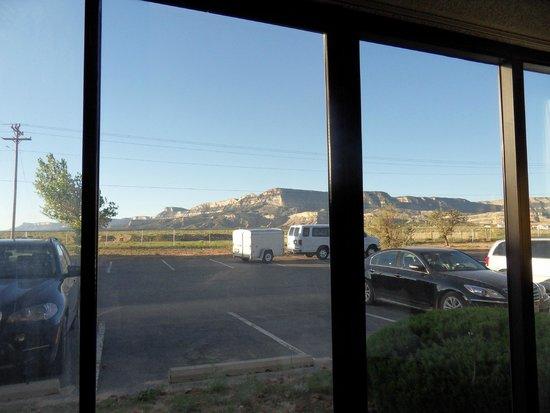 Kayenta Monument Valley Inn : Blick auf die Ausläufer des Monument VAlley